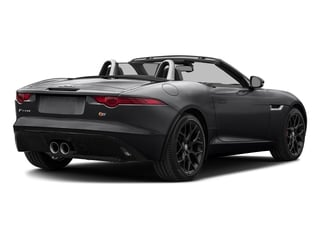 Ebony Black 2017 Jaguar F-TYPE Pictures F-TYPE Convertible Manual S photos rear view