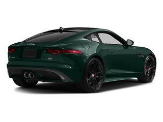 British Racing Green Metallic 2017 Jaguar F-TYPE Pictures F-TYPE Coupe 2D S V6 photos rear view