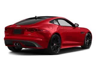 Caldera Red 2017 Jaguar F-TYPE Pictures F-TYPE Coupe 2D S V6 photos rear view