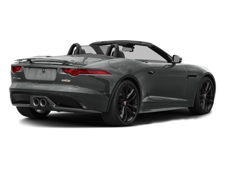 Ammonite Grey Metallic 2017 Jaguar F-TYPE Pictures F-TYPE Convertible 2D S AWD V6 photos rear view
