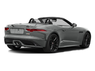 Rhodium Silver Metallic 2017 Jaguar F-TYPE Pictures F-TYPE Convertible 2D S AWD V6 photos rear view