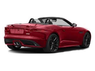 Italian Racing Red Metallic 2017 Jaguar F-TYPE Pictures F-TYPE Convertible 2D S AWD V6 photos rear view