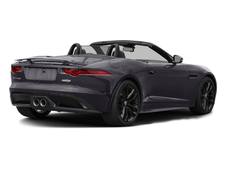 Black Berry 2017 Jaguar F-TYPE Pictures F-TYPE Convertible 2D S AWD V6 photos rear view