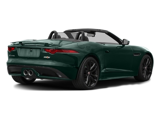 British Racing Green Metallic 2017 Jaguar F-TYPE Pictures F-TYPE Convertible 2D S AWD V6 photos rear view