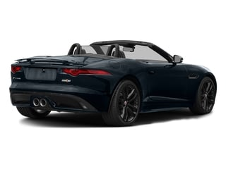 Dark Sapphire Metallic 2017 Jaguar F-TYPE Pictures F-TYPE Convertible 2D S AWD V6 photos rear view