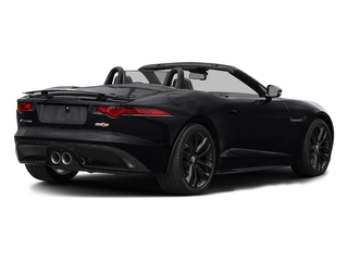 Ebony Black 2017 Jaguar F-TYPE Pictures F-TYPE Convertible 2D S AWD V6 photos rear view