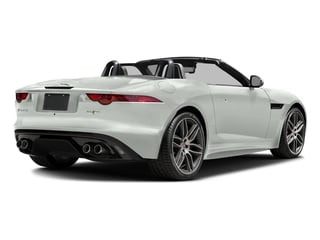 Polaris White 2017 Jaguar F-TYPE Pictures F-TYPE Convertible 2D R AWD V8 photos rear view