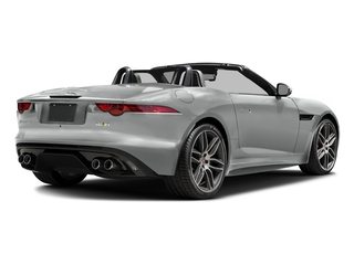 Rhodium Silver Metallic 2017 Jaguar F-TYPE Pictures F-TYPE Convertible 2D R AWD V8 photos rear view