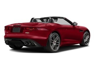 Italian Racing Red Metallic 2017 Jaguar F-TYPE Pictures F-TYPE Convertible 2D R AWD V8 photos rear view