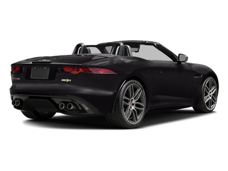 Ultimate Black Metallic 2017 Jaguar F-TYPE Pictures F-TYPE Convertible 2D R AWD V8 photos rear view