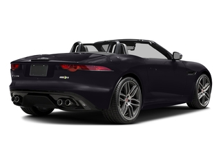 Black Berry 2017 Jaguar F-TYPE Pictures F-TYPE Convertible 2D R AWD V8 photos rear view