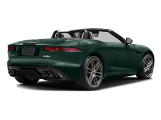 British Racing Green Metallic 2017 Jaguar F-TYPE Pictures F-TYPE Convertible 2D R AWD V8 photos rear view