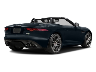 Dark Sapphire Metallic 2017 Jaguar F-TYPE Pictures F-TYPE Convertible 2D R AWD V8 photos rear view