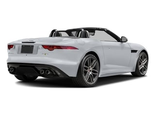 Glacier White Metallic 2017 Jaguar F-TYPE Pictures F-TYPE Convertible 2D R AWD V8 photos rear view
