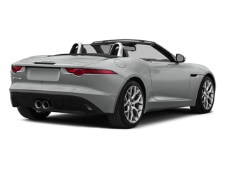 Rhodium Silver Metallic 2017 Jaguar F-TYPE Pictures F-TYPE Convertible 2D V6 photos rear view
