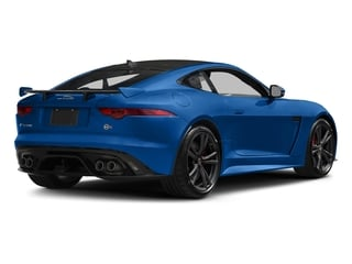 Ultra Blue Metallic 2017 Jaguar F-TYPE Pictures F-TYPE Coupe Auto SVR AWD photos rear view
