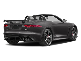 Ammonite Grey Metallic 2017 Jaguar F-TYPE Pictures F-TYPE Convertible 2D SVR AWD V8 photos rear view