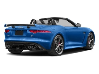 Ultra Blue Metallic 2017 Jaguar F-TYPE Pictures F-TYPE Convertible 2D SVR AWD V8 photos rear view