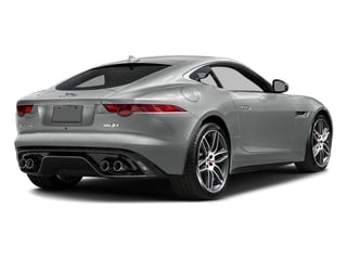 Rhodium Silver Metallic 2017 Jaguar F-TYPE Pictures F-TYPE Coupe 2D R AWD V8 photos rear view