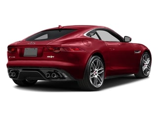 Italian Racing Red Metallic 2017 Jaguar F-TYPE Pictures F-TYPE Coupe 2D R AWD V8 photos rear view