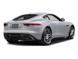 Glacier White Metallic 2017 Jaguar F-TYPE Pictures F-TYPE Coupe 2D R AWD V8 photos rear view