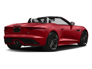 Caldera Red 2017 Jaguar F-TYPE Pictures F-TYPE Conv 2D S British Design Edition AWD photos rear view