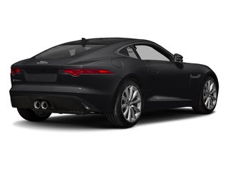 Ebony Black 2017 Jaguar F-TYPE Pictures F-TYPE Coupe Auto photos rear view