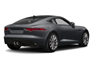 Storm Grey 2017 Jaguar F-TYPE Pictures F-TYPE Coupe Auto photos rear view