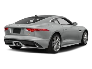 Rhodium Silver Metallic 2017 Jaguar F-TYPE Pictures F-TYPE Coupe Auto S AWD photos rear view