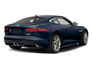 Dark Sapphire Metallic 2017 Jaguar F-TYPE Pictures F-TYPE Coupe Auto S AWD photos rear view