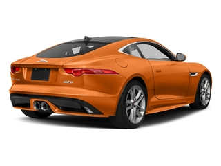 Firesand Metallic 2017 Jaguar F-TYPE Pictures F-TYPE Coupe Auto S AWD photos rear view