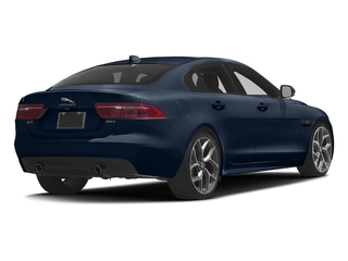 Dark Sapphire Metallic 2017 Jaguar XE Pictures XE Sedan 4D 25t I4 Turbo photos rear view