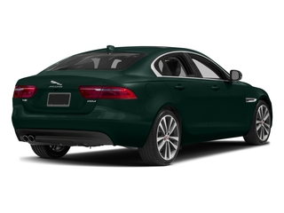 British Racing Green Metallic 2017 Jaguar XE Pictures XE Sedan 4D 20d Prestige I4 AWD T-Dsl photos rear view