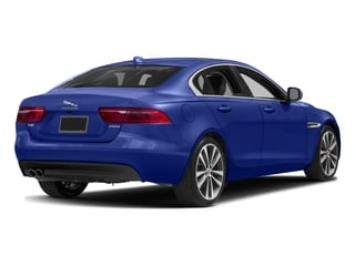Caesium Blue Metallic 2017 Jaguar XE Pictures XE Sedan 4D 20d Prestige I4 AWD T-Dsl photos rear view