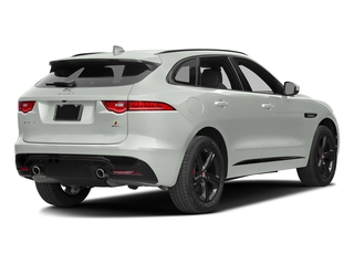 Polaris White 2017 Jaguar F-PACE Pictures F-PACE Utility 4D S AWD V6 photos rear view