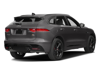 Ammonite Grey Metallic 2017 Jaguar F-PACE Pictures F-PACE Utility 4D S AWD V6 photos rear view