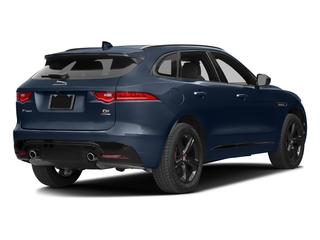 Dark Sapphire Metallic 2017 Jaguar F-PACE Pictures F-PACE Utility 4D S AWD V6 photos rear view