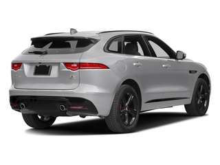 Glacier White Metallic 2017 Jaguar F-PACE Pictures F-PACE Utility 4D S AWD V6 photos rear view
