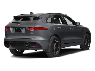 Tempest Grey 2017 Jaguar F-PACE Pictures F-PACE Utility 4D S AWD V6 photos rear view