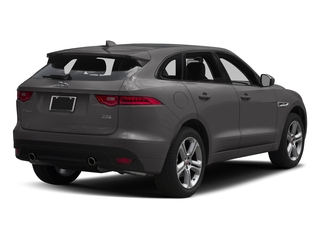 Ammonite Grey Metallic 2017 Jaguar F-PACE Pictures F-PACE Utility 4D 35t R-Sport AWD V6 photos rear view