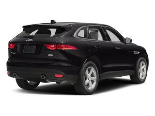 Ultimate Black Metallic 2017 Jaguar F-PACE Pictures F-PACE 35t Premium AWD photos rear view