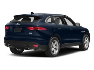 Dark Sapphire Metallic 2017 Jaguar F-PACE Pictures F-PACE 35t Premium AWD photos rear view