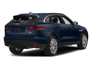 Dark Sapphire Metallic 2017 Jaguar F-PACE Pictures F-PACE 20d AWD photos rear view