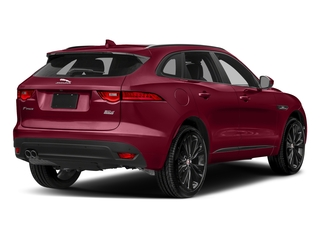 Odyssey Red Metallic 2017 Jaguar F-PACE Pictures F-PACE Utility 4D 20d R-Sport AWD I4 T-Dsl photos rear view