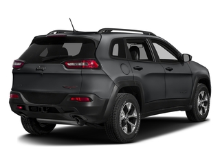 Granite Crystal Metallic Clearcoat 2017 Jeep Cherokee Pictures Cherokee Trailhawk 4x4 *Ltd Avail* photos rear view
