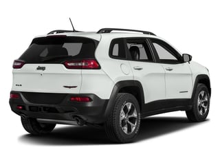 Bright White Clearcoat 2017 Jeep Cherokee Pictures Cherokee Trailhawk 4x4 *Ltd Avail* photos rear view