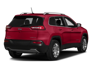 Firecracker Red Clearcoat 2017 Jeep Cherokee Pictures Cherokee Utility 4D High Altitude 2WD photos rear view