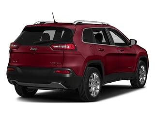 Deep Cherry Red Crystal Pearlcoat 2017 Jeep Cherokee Pictures Cherokee Utility 4D Altitude 2WD photos rear view
