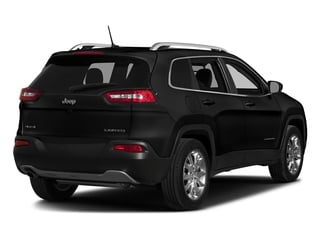 Diamond Black Crystal Pearlcoat 2017 Jeep Cherokee Pictures Cherokee Utility 4D Altitude 2WD photos rear view