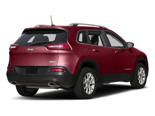 Deep Cherry Red Crystal Pearlcoat 2017 Jeep Cherokee Pictures Cherokee Utility 4D Latitude 4WD photos rear view
